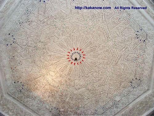 Islamic style white dome in  mosque, Tunisia, North Africa, Photo by kaka