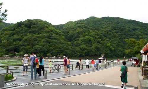 Arashiyama has many maple and cherry trees. Kyoto, Japan. Photo by kaka. http://kakanow.com
