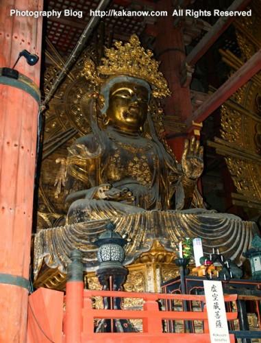 Buddha in Todaiji Temple, Nara, Japan. Photo by KaKa