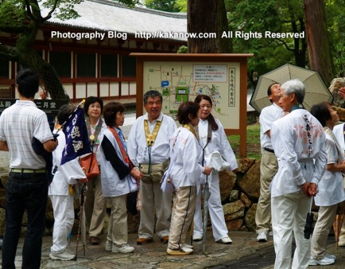 Japanese Believers Visit Mission in Todaiji Temple (United Nations World Heritage Site),  Nara, Japan. Photo by KaKa