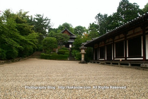 Small cobblestone ground. Toshodai-ji Temple Nara Japan, Photo by KaKa, http://kakanow.com