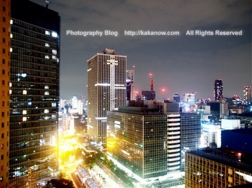 Osaka is one of the most prosperous cities in the world. Night Osaka is very bright. Japan, Osaka, Photo by KaKa