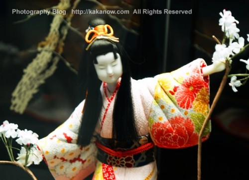 Japanese handwork, the image of noble women, Japan, Osaka, Photo by KaKa, http://kakanow.com