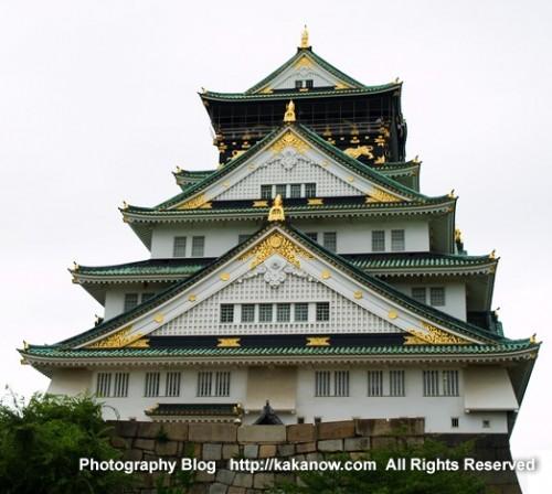Osaka Castle, Japan, Osaka, summer, Photo by KaKa