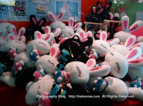 Catch rabbit game machine, Japan, Osaka, Photo by KaKa, http://kakanow.com