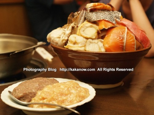 Japanese sumo hot pot, Japan, Tokyo, Photo by KaKa