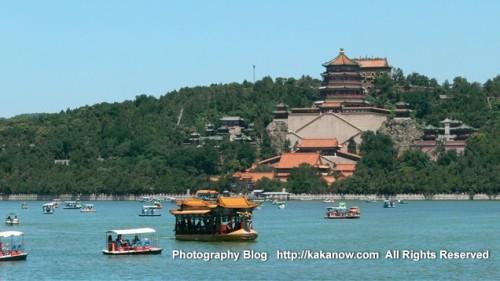 China Beijing, visit the Summer Palace (Yiheyuan), summer vacation. Photo by KaKa.