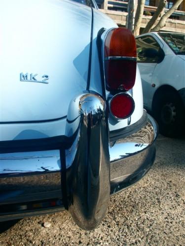 Classic cars, Jaguar white, France Marseille. Photo by KaKa.