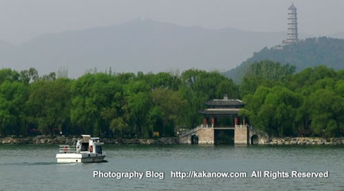 The spring of Beijing Yiheyuan(the summer palace), China. Photo by KaKa.