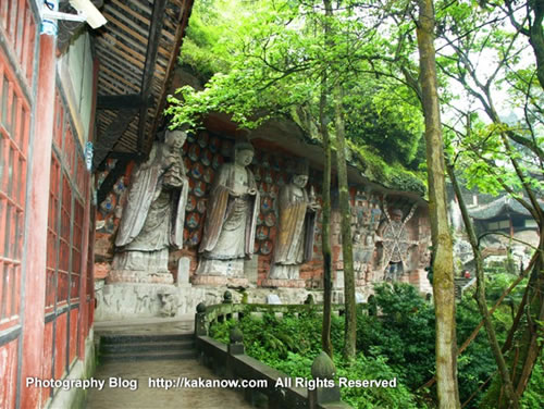 China travel, Chongqing Dazu Rock Carvings, Baoding Mountain. Photo by KaKa.