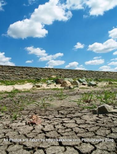 China travel, Inner Mongolia, Horqin prairie drought. Photo by KaKa.