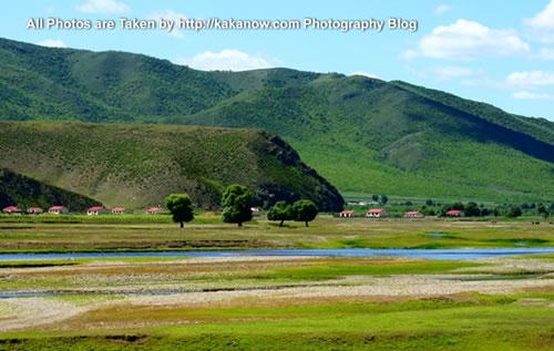 China travel, Inner Mongolia, Hing'an, beautiful scenery of Aer Mountain. Photo by KaKa.