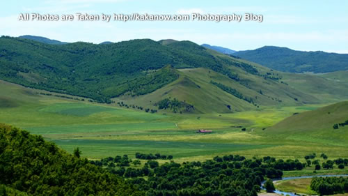 China travel, Inner Mongolia, Hing'an, beautiful scenery of Aer Mountain. Photo by KaKa.