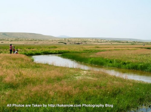 China travel, Inner Mongolia, Xilin Gol League, Xilin River. Photo by KaKa.