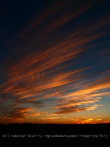 China travel, Inner Mongolia, Tongliao, suburbs, sunset. Photo by KaKa.