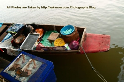 Thailand travel, Bangkok, Floating Market, Thailand special snacks. Photo by KaKa.