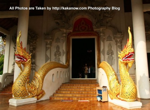 Thailand travel, Chiang Mai, Wat Chedi Luang Temple. This is a beautiful large temple. Photo by KaKa.