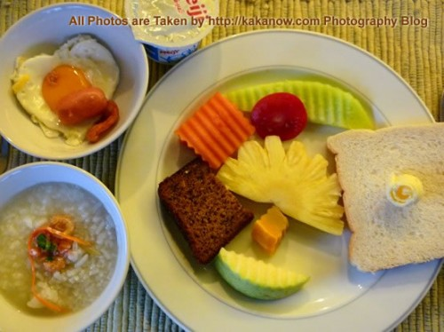 Thailand travel, Chiang Mai morning, hotel breakfast. Photo by KaKa.