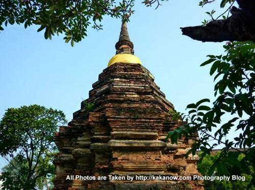 Thailand travel, Chiang Mai, an ancient stupa. Photo by KaKa.