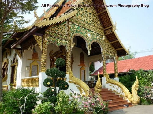 Thailand travel, Chiang Mai, Wat Chiangman. The beautiful Chiang Mai Temple. Photo by KaKa.