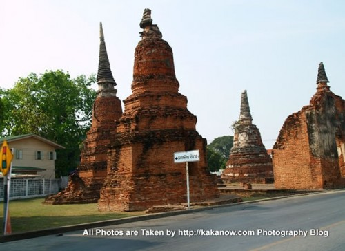 Thailand travel, Ayutthaya, Temple ruins. Photo by KaKa.