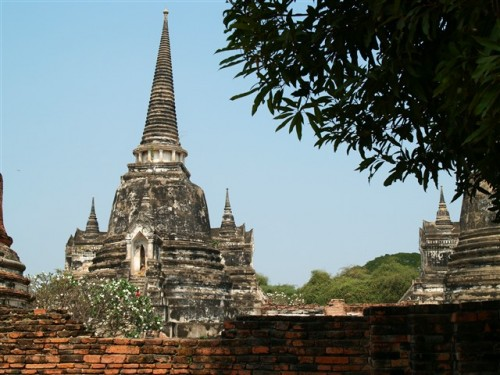 Thailand travel, Ayutthaya, Wat Phra Sri Sanphet. Photo by KaKa.