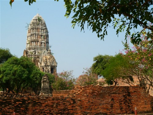 Thailand travel, Ayutthaya, Wat Ratchaburana. Photo by KaKa.