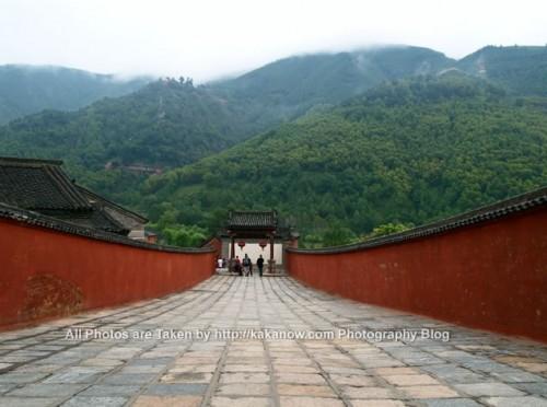 China travel, Shanxi Province, Wutai Mountain. Buddhist temple. Photo by KaKa.