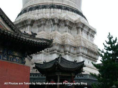 China travel, Shanxi Province, Wutai Mountain. White Tower Temple. Photo by KaKa.