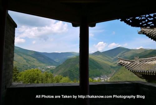 China travel, Shanxi Province, Wutai Mountain, Buddhism Nanshan Temple. Photo by KaKa.