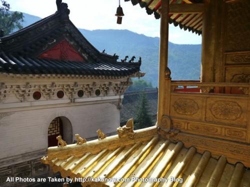 China travel, Shanxi Province, Wutai Mountain, Buddhism Xiantong Temple. Photo by KaKa.