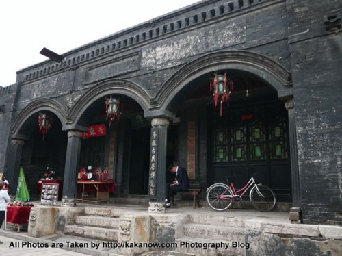 China travel, Shanxi Province, in the Pingyao Ancient City. Photo by KaKa.
