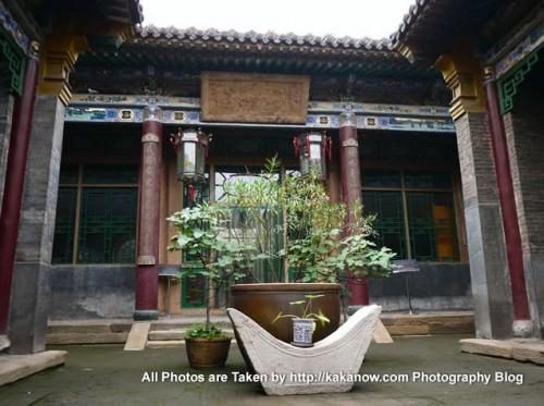 China travel, Shanxi Province, Taigu County Town. The Kongxiangxi Former Residence. Photo by KaKa.