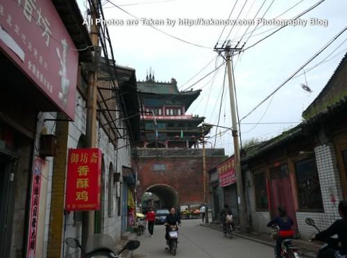 China travel, Shanxi Province, Taigu County Town. Photo by KaKa.