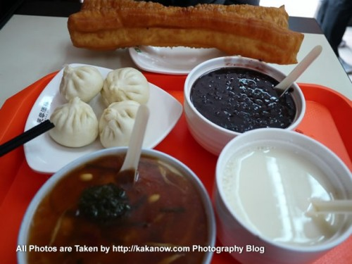 China travel, Shanxi Province, Taiyuan. Delicious and not expensive local breakfast. Photo by KaKa.