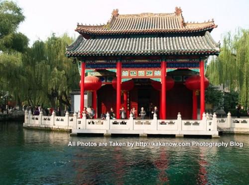 China travel, Shandong Province, Jinan. In the Baotu Spring Park. Photo by KaKa.