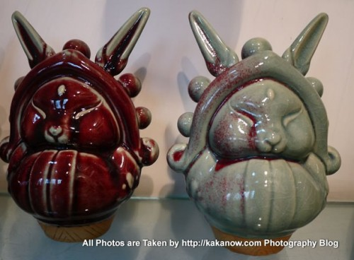 China travel, Henan Province, Jun Porcelain, Bunny General. Photo by KaKa.