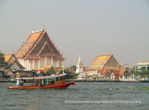 Thailand travel, Bangkok, Chao Phraya River. Photo by KaKa.